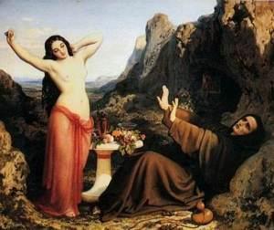 tentation de Saint Hilarion